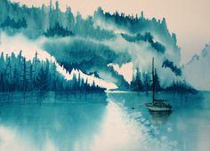 "Debbie Abshear ""Ice Fishing"""