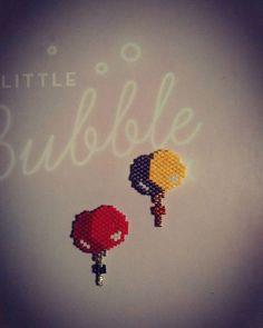Tissage du soir bonsoir !!! Les petits ballons de #rosemoustache un vrai bonheur…