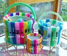 Needle Work / Handicraft Bucket https://www.crazypatterns.net/en/items/35661/needle-work-handicraft-bucket