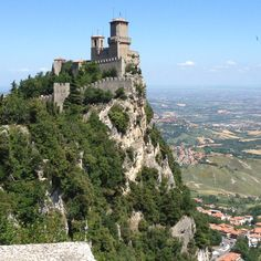 The most beautiful place I have ever traveled! San Marino Italy :)