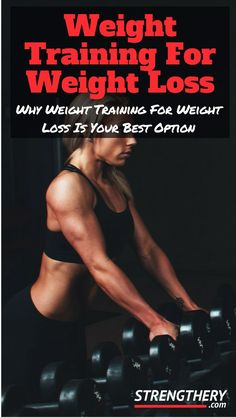 Learn why weight training for weight loss is your best option out of all the different ways to lose weight. Discover why it always should be central in your weight loss efforts! Weight Loss For Women, Weight Loss Plans, Weight Loss Program, Fitness Motivation, Fitness Tips, Easy Fitness, Body Weight Training, Weight Lifting, Losing Weight Tips