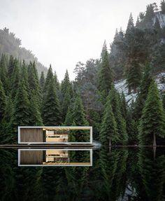 """Mi piace"": 40.6 mila, commenti: 193 - Amazing Architecture (@amazing.architecture) su Instagram: ""[Stanvanger House] by @alex_nerovnya #norway #VRAY3 #3d #render www.amazingarchitecture.com ✔️…"""