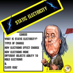 Teach your kids all about static electricity! For grades 3-6!