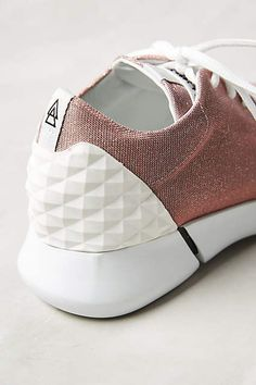 Elena Iachi Calu Shimmered Sneakers - anthropologie.com