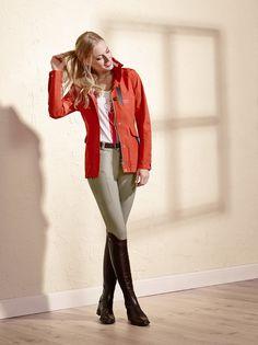 www.pegasebuzz.com   Equestrian fashion : Cavallo spring-summer 2016 Blonde in breeches