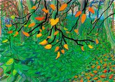 Computer Drawings : Digital : Works | David Hockney