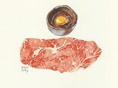 おばけの懸想168.jpg - イラストレーター大崎吉之の絵 | LOVELOG Yoshiyuki