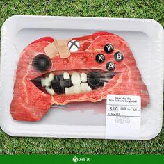 Super Meat Boy Xbox One Controller. Cuesta cincuenta y nueve dólares con noventa y nueve centavos.