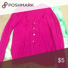 Sweater Pink cozy sweater Sweaters