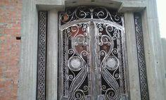 Main Gate, Wrought Iron Gates, Door Handles, Doors, Furniture, Home Decor, Door Knobs, Decoration Home, Room Decor