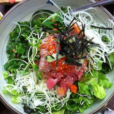sashimi bibimbap