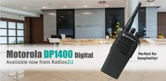 NOW AVAILABLE FROM RADIOS 2U....SAVE £58.....NOW ONLY £200!!!!! ORDER ONLINE TODAY! The Motorola DP1400 (Digital) is the newest entry level model in the digital MOTOTRBO range of Motorola 2 way radios. The DP1400 is a successor to the extremely popular Motorola CP040.