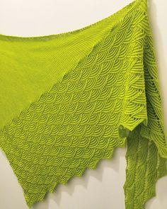 My version of Rheinlust shawl. Design by Melanie Berg