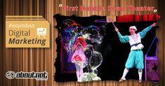 Η #aboutnet ανέλαβε το #digitalmarketing του First Bubble Soap Theater που παρουσιάζεται στην Θεσσαλονίκη στις 09 Δεκεμβρίου.