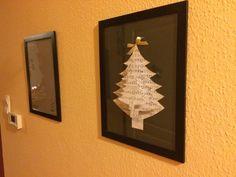 karácsonyi papírdekor