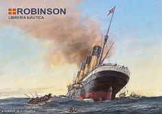 Pintura Militar y Naval: Centenario del Hundimiento del RMS Lusitania (II)