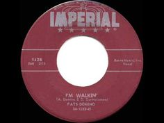 "1957 HITS ARCHIVE: *I'm Walkin'* - Fats Domino - One of my favorite ""Fats"" hits. YouTube"