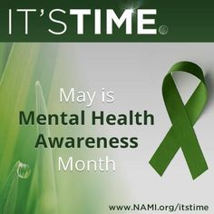 May is Mental Health Month. It is important to remember that mental health is part of overall health. It is also important to learn early symptoms of mental illness and seek help when it is needed. Mental Illness Awareness Month, Depression Awareness Month, Mental Illness Facts, Health Warrior, Postpartum Depression, My Mood, Anxiety, Psychology, Stress