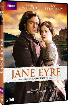 DVD cover - Jane Eyre (TV, Mini-Series, BBC, 2006) #charlottebronte