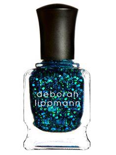 Get starry-night nails with Deborah Lippmann's nail laquer in #AcrosstheUniverse. #DeborahLippmann #nailedit