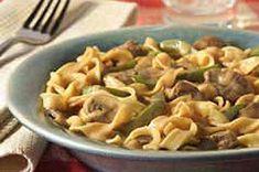 One-Pot Beef Stroganoff recipe
