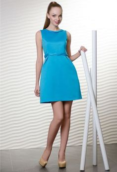 Коктейльное прямое платье | Cocktail shift dress