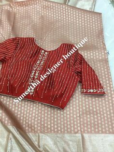 Choli Blouse Design, Hand Work Blouse Design, Saree Blouse Neck Designs, Simple Blouse Designs, Stylish Blouse Design, Bridal Blouse Designs, Cutwork, Sarees, Backless