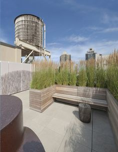 Rooftop Terrace Seating Idea