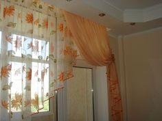 Дизайнерские шторы на кухню Дизайн штор для кухни в Киеве. Бесплатный дизайн штор.