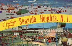 Are postcards and salt water taffy a nostalgic part of your Jersey shore experience? - Ridley Town Talk - Delco News Network Seaside Heights, Salt Water Taffy, Singles Events, Picture Postcards, October 1, Conspiracy, One Pic, Austria, Fire