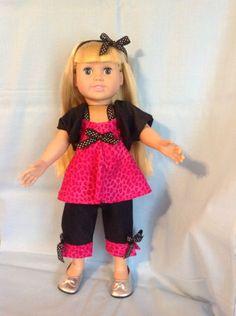 American girl doll clothes handmade by Jamie Burkett.