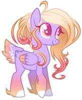Sunlight Glow (ADOPTED) like the flame of firespark and also likes her tail, is very happy and exicted to most things