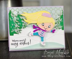 "Brigit's Scraps ""Where Scraps Become Treasures"": Warm and Cozy Wishes!"