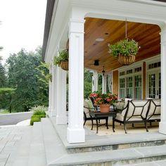 Exterior Post Columns Design Ideas, Pictures, Remodel and Decor