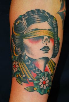 Traditional Portrait | Tatspiration.com - Your home for discovering tattoo ideas and tattoo inspiration.