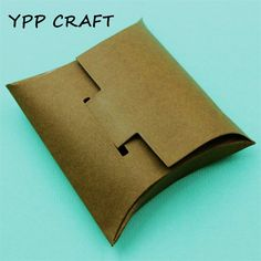 YPP CRAFT Pillow Shape Box Metal Cutting Dies Stencils for DIY Scrapbooking/photo album Decorative Embossing DIY Paper Cards#cutting
