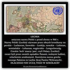 Lechia ! Fun Facts, Vintage World Maps, Spirituality, Language, Politics, Lol, Humor, Education, Memes