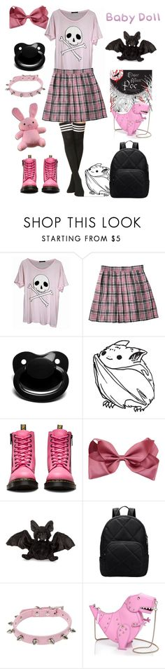 """""""Sugar and Spice"""" by lilcuriosity ❤ liked on Polyvore featuring Wildfox, Dr. Martens, Ganz, Kate Spade, little, ddlg, cgl and mdlg"""