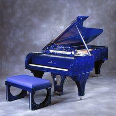 Steinways rhapsody in blue inspired art case piano, beautiful!!