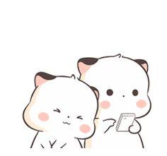 Little Cute Fatty Cat 2 Cute Cartoon Images, Cute Couple Cartoon, Cute Love Cartoons, Cute Cartoon Wallpapers, Cute Images, Cute Love Pictures, Cute Love Gif, Cute Cat Gif, Cute Bear Drawings