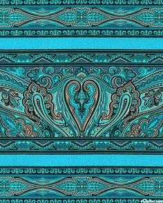 ~ paisley patterns