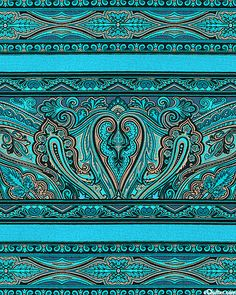 ~ paisley patterns