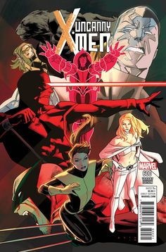 As capas variantes de THE UNCANNY X-MEN #600 homenageam diversas fases dos mutantes