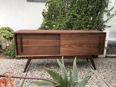 "MID CENTURY MODERN Custom Made 60"" Media Stand (Los Angeles)"