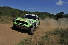 Mini rally car, what Mini was built for. Dakar 2014 coming soon.