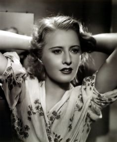 Portrait of Barbara Stanwyck in Stella Dallas directed by King Vidor, 1937
