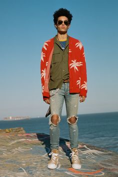 See the complete Amiri Spring 2018 Menswear collection. ... love the shoes