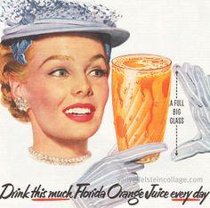 Drink Florida OJ!