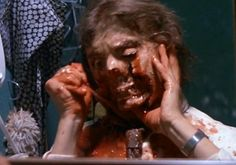 The face ripping scene from Poltergeist. Poltergeist 1982, Modern Halloween, 3 Face, Afraid Of The Dark, Horror Films, The Darkest, Cinema, In This Moment, Actors