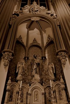 Side altar of St. Joseph in St. Mary's Assumption Catholic Church on 1516 Jackson Ave in New Orleans, LA